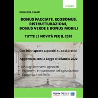 Bonus casa 2020: 300 risposte a casi pratici (eBook)