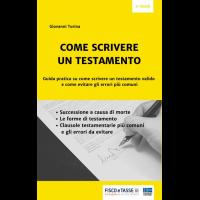 Come scrivere un testamento (eBook 2019)