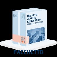 Conversione Decreto Agosto eBook + Circolare clienti