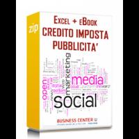 Credito d'imposta Bonus Pubblicità (eBook + excel)