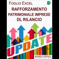 Rafforzamento patrimoniale Imprese DL Rilancio (Excel)