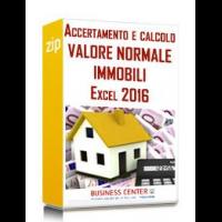 Accertamento e calcolo valore normale immobili
